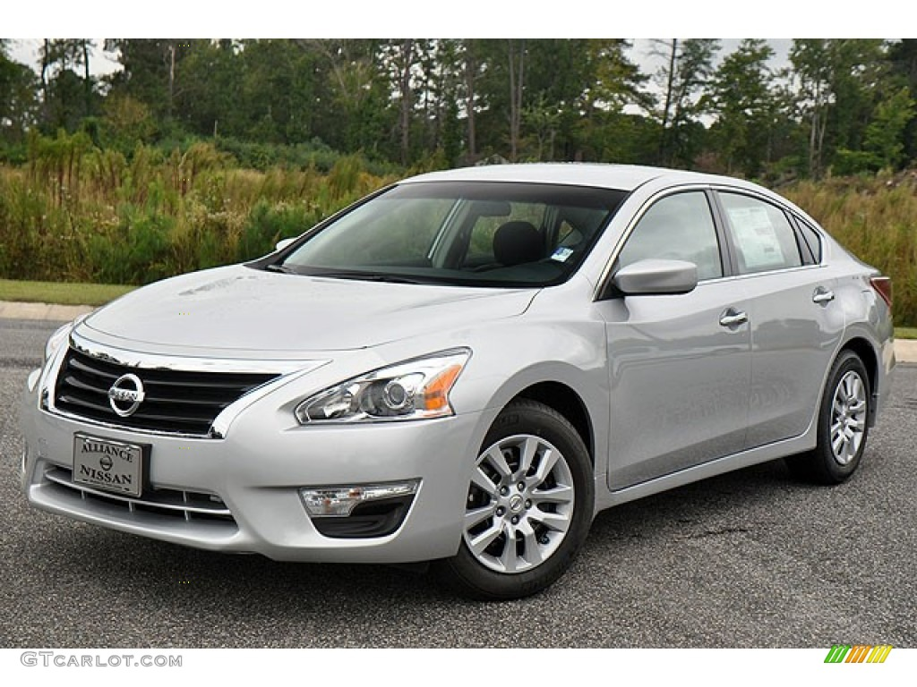 2013 brilliant silver nissan altima 2 5 s 72040792 car color galleries. Black Bedroom Furniture Sets. Home Design Ideas