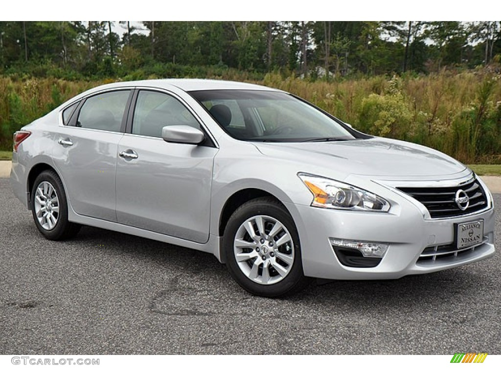 Brilliant Silver 2013 Nissan Altima 2 5 S Exterior Photo