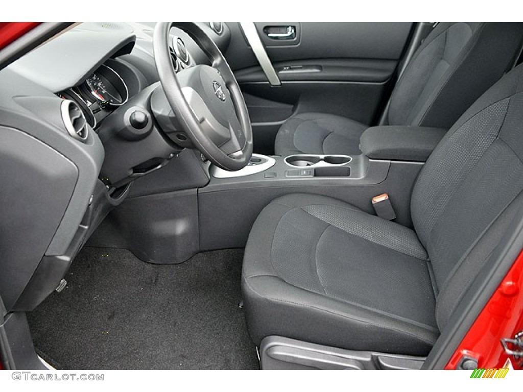 Black Interior 2013 Nissan Rogue S Awd Photo 72042919