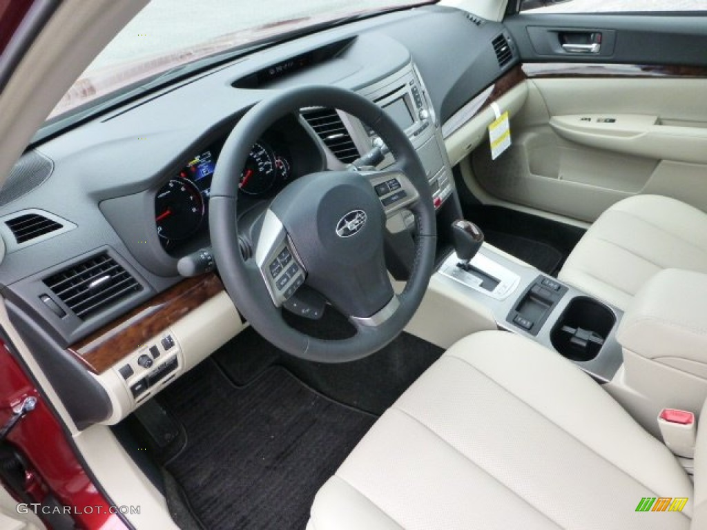 warm ivory leather interior 2013 subaru legacy. Black Bedroom Furniture Sets. Home Design Ideas