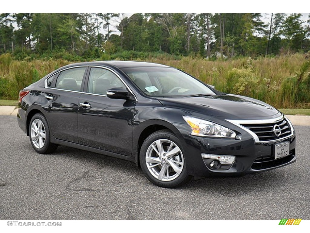 Super Black 2013 Nissan Altima 2 5 Sv Exterior Photo