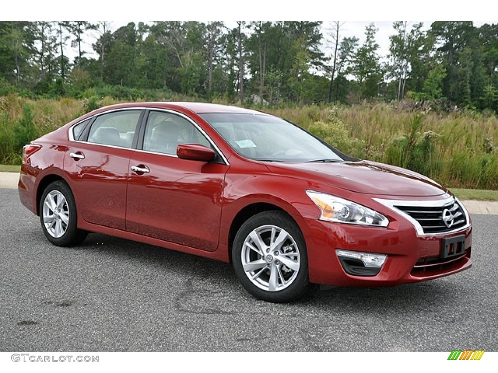 Cayenne Red 2013 Nissan Altima 2 5 Sv Exterior Photo 72044882 Gtcarlot Com