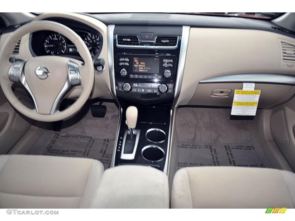 2013 Nissan Altima 2.5 SV Beige Dashboard Photo #72044908 ...