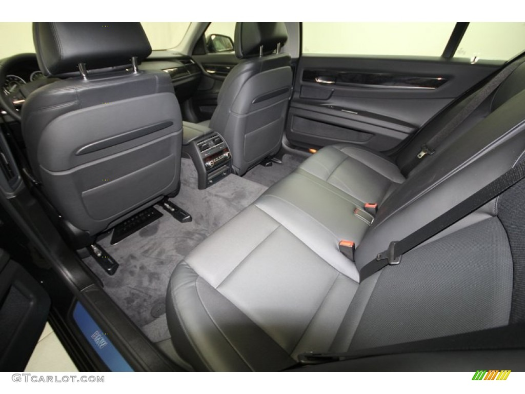Black Interior 2013 BMW 7 Series 740Li Sedan Photo 72049567