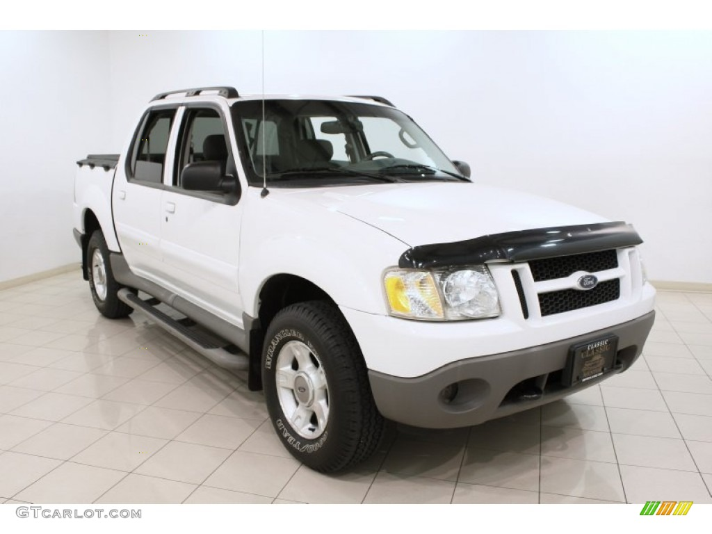 2003 Oxford White Ford Explorer Sport Trac XLT 4x4 72040533