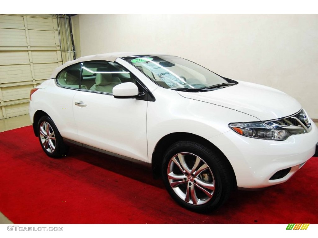 2012 pearl white nissan murano crosscabriolet awd 72040154 pearl white nissan murano vanachro Gallery