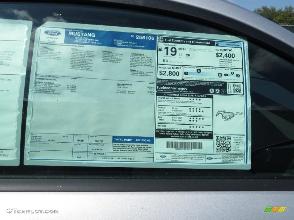 Find Your Cars Window Sticker Online Using The Vin Number