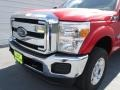 2012 Vermillion Red Ford F250 Super Duty XLT Crew Cab 4x4  photo #9