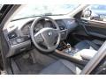 2012 BMW X3 Black Interior Prime Interior Photo