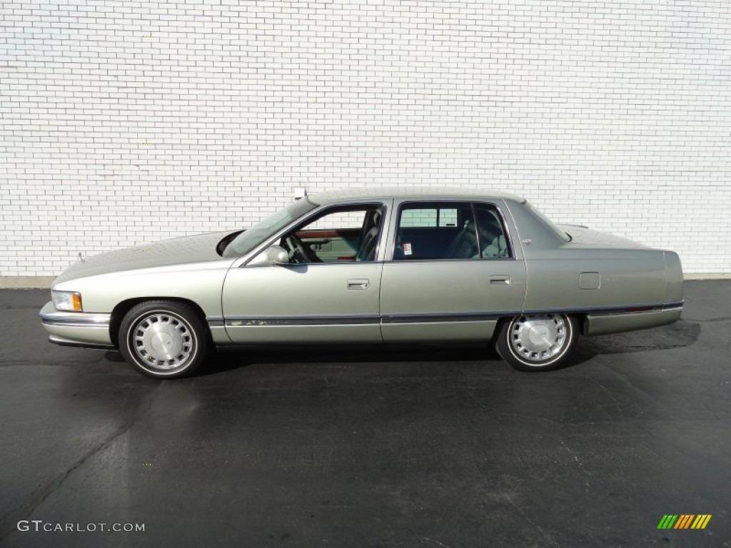light sandrift metallic 1996 cadillac deville sedan. Cars Review. Best American Auto & Cars Review
