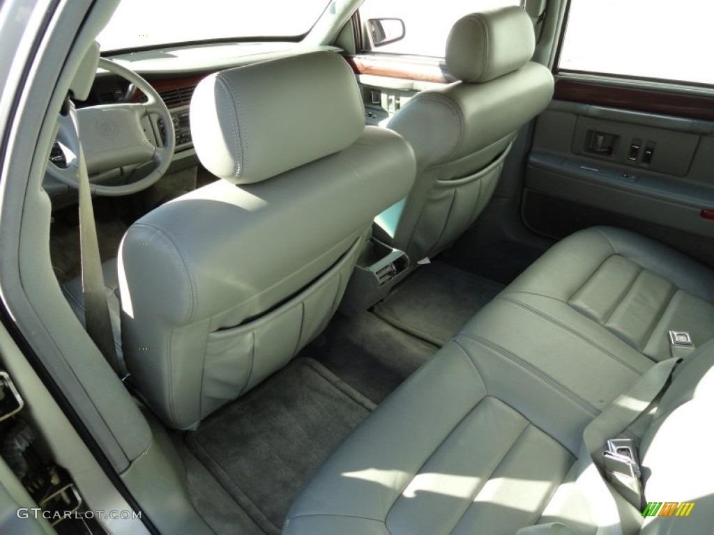 Neutral Shale Interior 1996 Cadillac Deville Sedan Photo 72082566