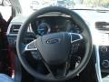 Charcoal Black Steering Wheel Photo for 2013 Ford Fusion #72091493