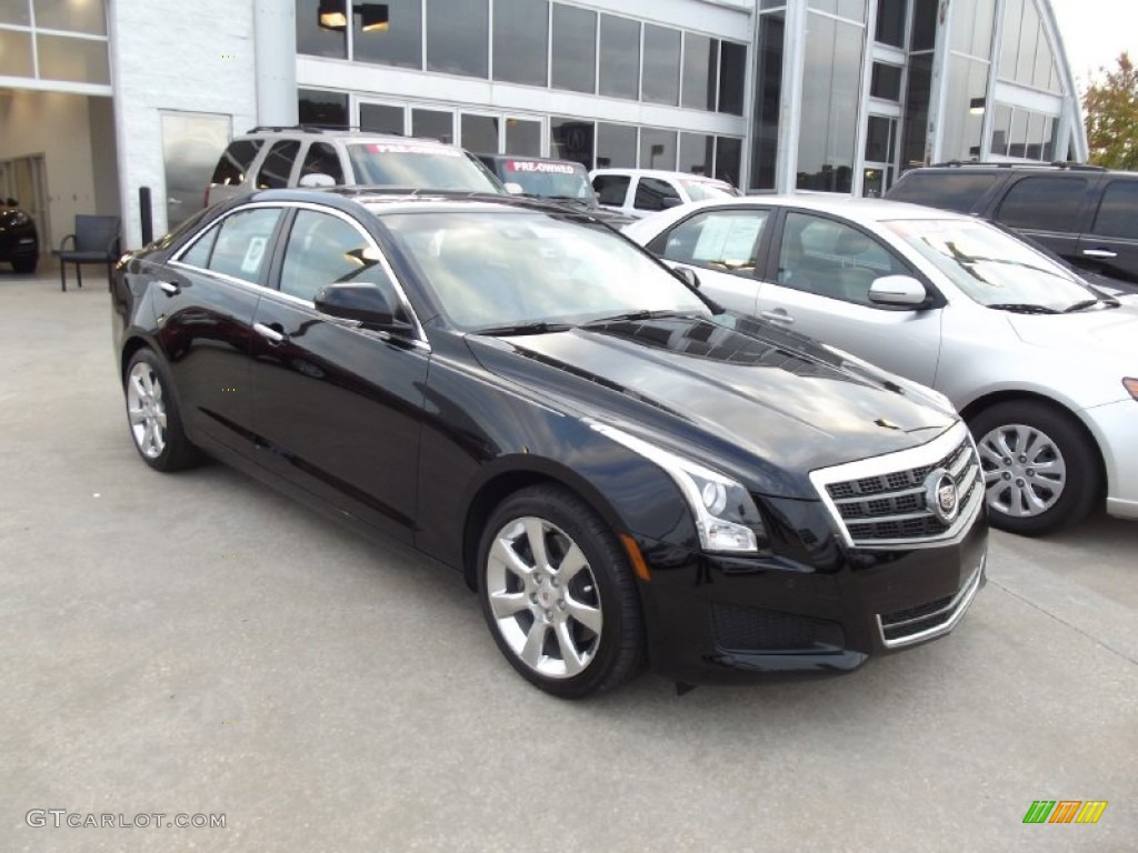 black raven 2013 cadillac ats 3 6l luxury exterior photo 72092407. Black Bedroom Furniture Sets. Home Design Ideas