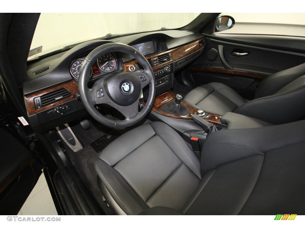 Black Interior 2007 BMW 3 Series 328i Coupe Photo #72092635 Design Inspirations