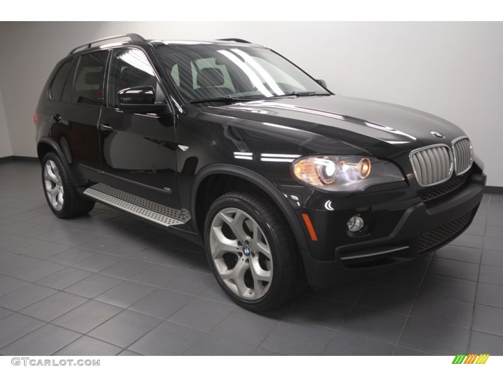 2008 black sapphire metallic bmw x5 72040454 photo. Black Bedroom Furniture Sets. Home Design Ideas