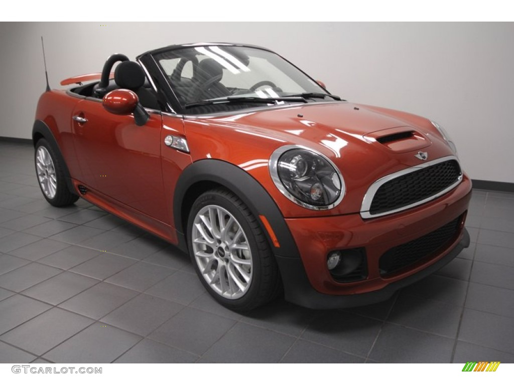 2013 spice orange metallic mini cooper s roadster 72040440 photo 7 car color. Black Bedroom Furniture Sets. Home Design Ideas