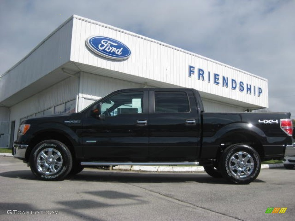 2013 tuxedo black metallic ford f150 xlt supercrew 4x4