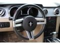 Light Parchment Steering Wheel Photo for 2006 Ford Mustang #72113691