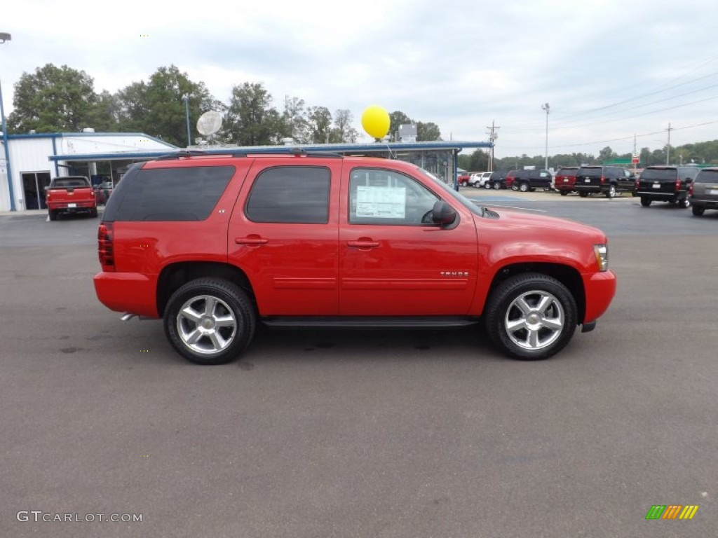 Victory Red 2013 Chevrolet Tahoe Lt Exterior Photo 72120190
