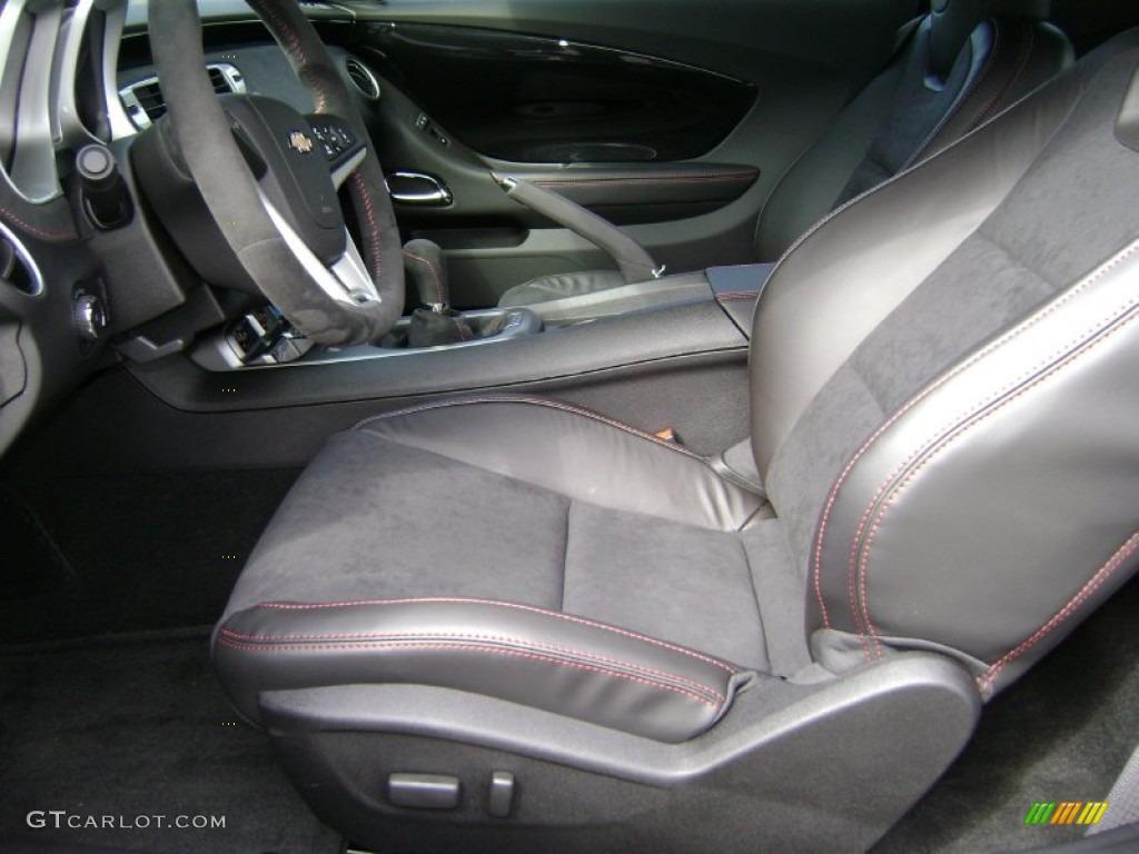 Black Interior 2013 Chevrolet Camaro Zl1 Photo 72123213