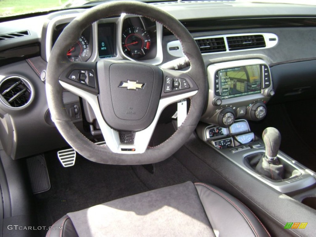2013 Black Chevrolet Camaro Zl1 72101532 Photo 4