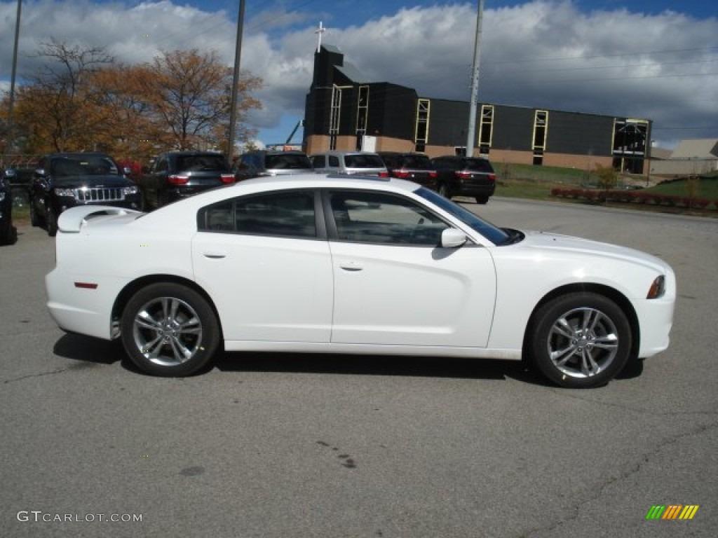 Bright White 2013 Dodge Charger Sxt Plus Awd Exterior
