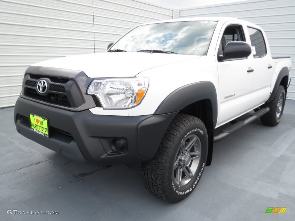 2013 super white toyota tacoma v6 tss prerunner double cab 72101851 photo 6. Black Bedroom Furniture Sets. Home Design Ideas