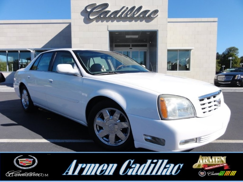 2004 White Lightning Cadillac Deville Dts 72101512 Car Color Galleries