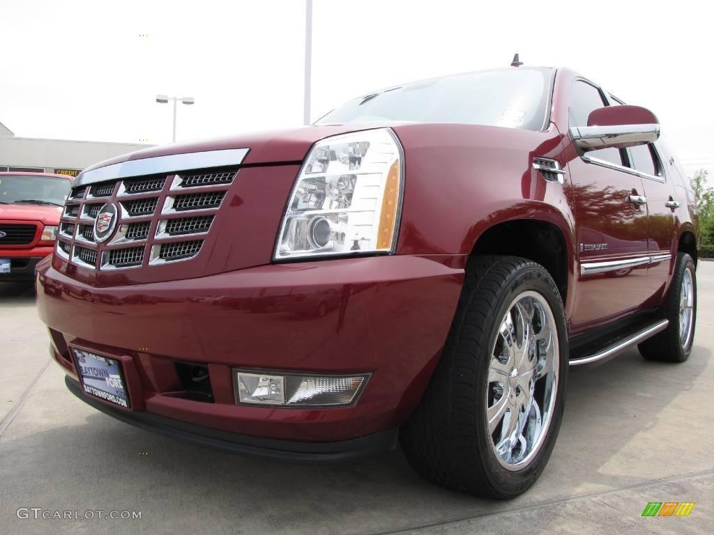 2007 red e cadillac escalade awd 7205561 car color galleries for Cadillac escalade interior colors