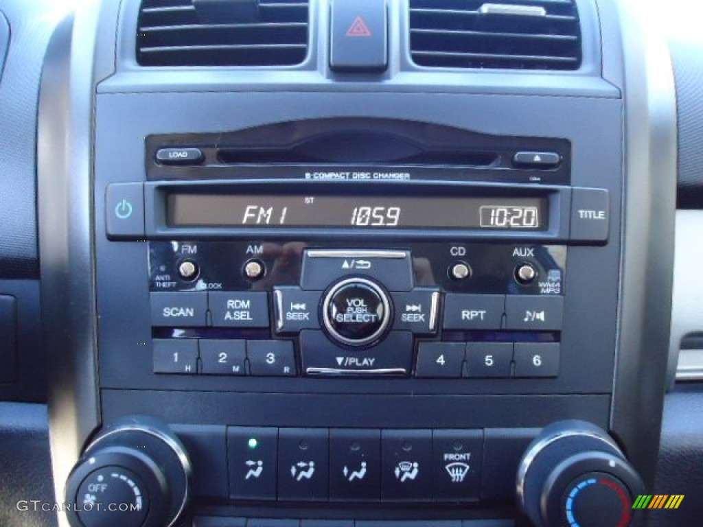 2011 CR-V SE 4WD - Polished Metal Metallic / Black photo #10
