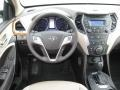 Beige Dashboard Photo for 2013 Hyundai Santa Fe #72147477