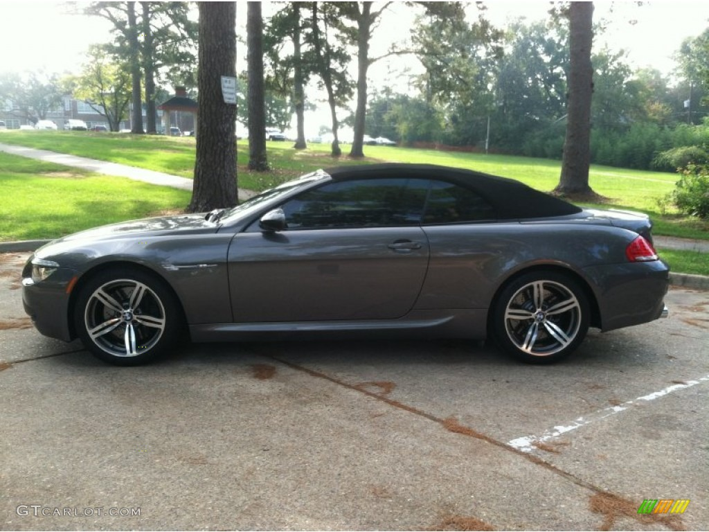 Stratus Grey Metallic 2009 Bmw M6 Convertible Exterior