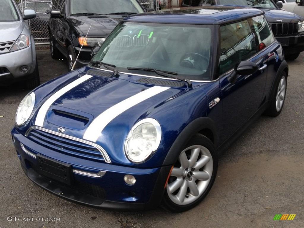 Indi Blue Metallic Mini Cooper