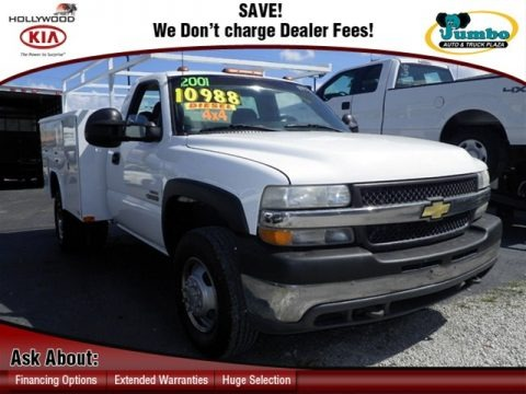 2001 chevrolet silverado 3500 regular cab 4x4 chassis. Black Bedroom Furniture Sets. Home Design Ideas