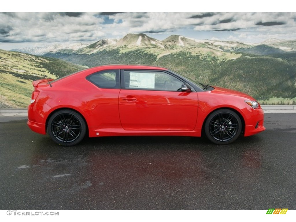 Absolutely Red 2013 Scion Tc Release Series 8 0 Exterior