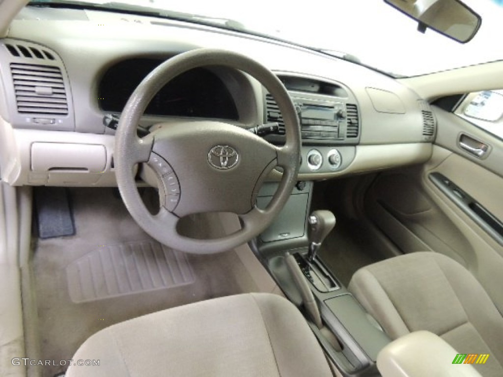 Taupe Interior 2006 Toyota Camry Le Photo 72188133