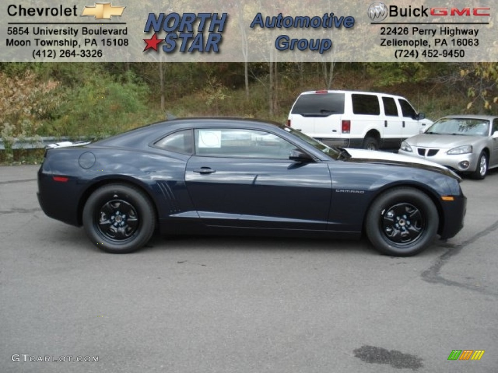 2013 blue ray metallic chevrolet camaro ls coupe 72203897. Black Bedroom Furniture Sets. Home Design Ideas