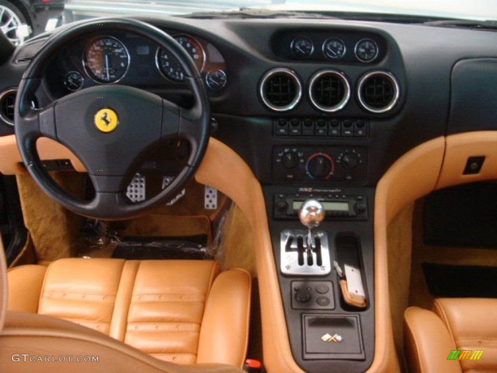 2000 ferrari 550 maranello beige dashboard photo 72210326. Black Bedroom Furniture Sets. Home Design Ideas