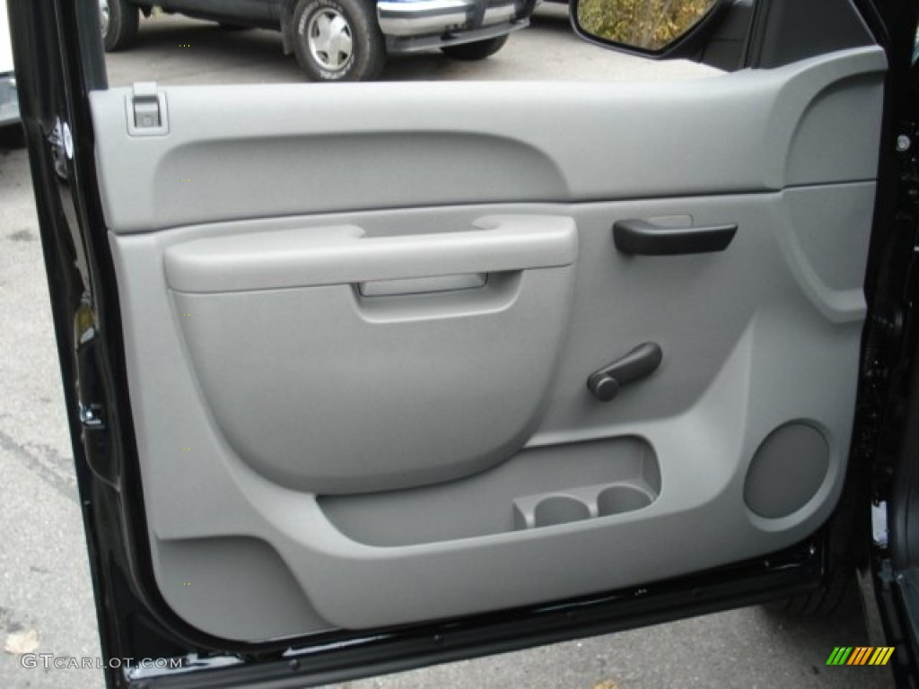 2013 Silverado 1500 LS Regular Cab 4x4 - Black / Dark Titanium photo #12