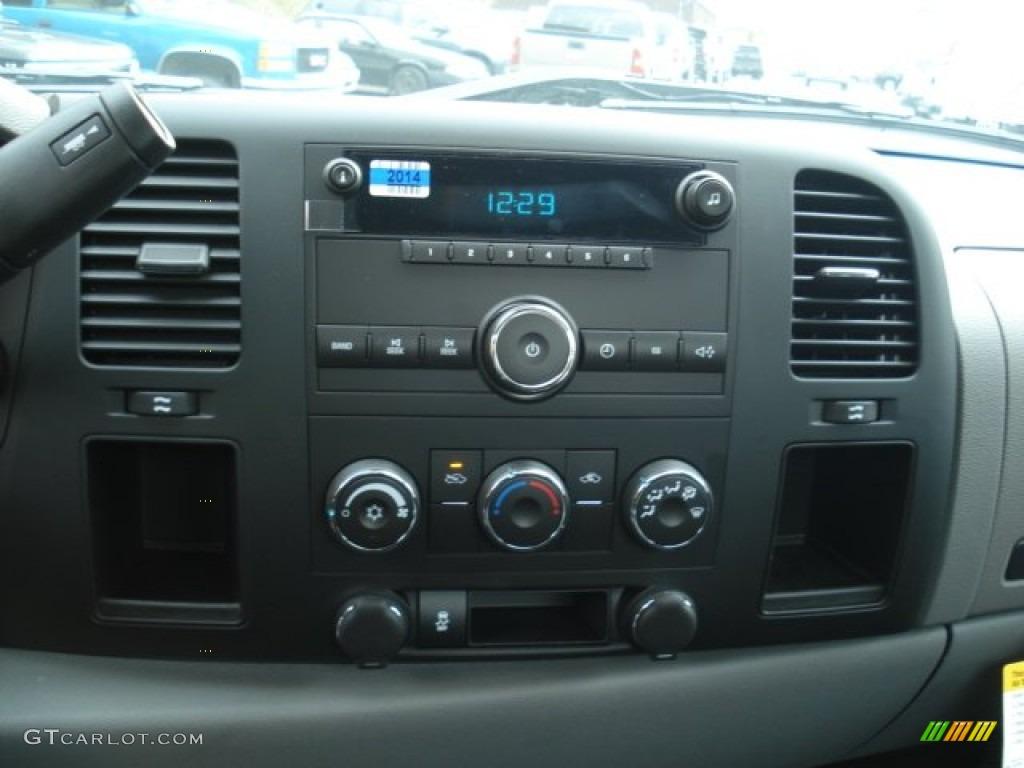 2013 Silverado 1500 LS Regular Cab 4x4 - Black / Dark Titanium photo #16