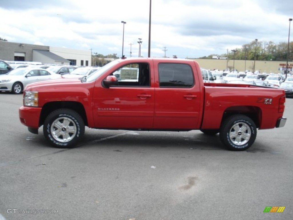 2013 Silverado 1500 LT Crew Cab 4x4 - Victory Red / Ebony photo #5