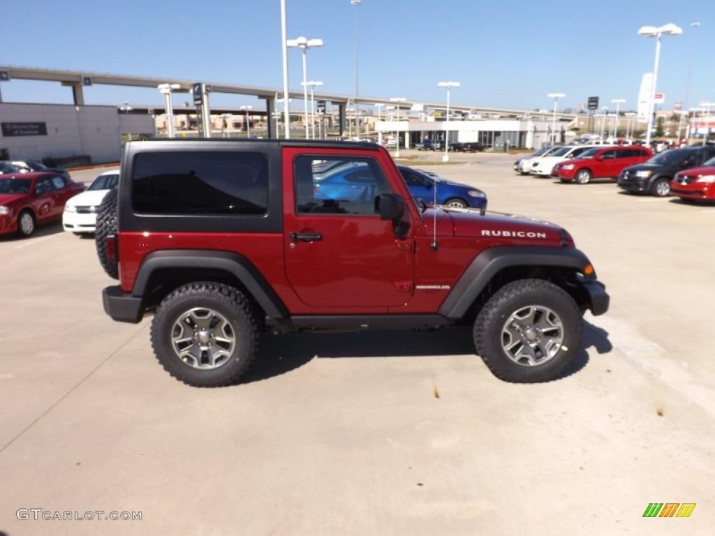 Picture of 2006 jeep wrangler rubicon exterior - Deep Cherry Red Crystal Pearl 2013 Jeep Wrangler Rubicon