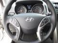 Black Steering Wheel Photo for 2013 Hyundai Elantra #72220037