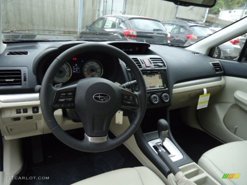 Ivory Interior 2013 Subaru Impreza Sport Limited 5 Door Photo 72222983