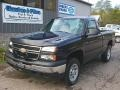 Dark Blue Metallic 2007 Chevrolet Silverado 1500 Classic Work Truck Regular Cab 4x4