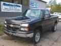 Dark Blue Metallic - Silverado 1500 Classic Work Truck Regular Cab 4x4 Photo No. 1