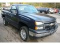Dark Blue Metallic - Silverado 1500 Classic Work Truck Regular Cab 4x4 Photo No. 8
