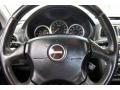 2004 Subaru Impreza Dark Gray Interior Steering Wheel Photo