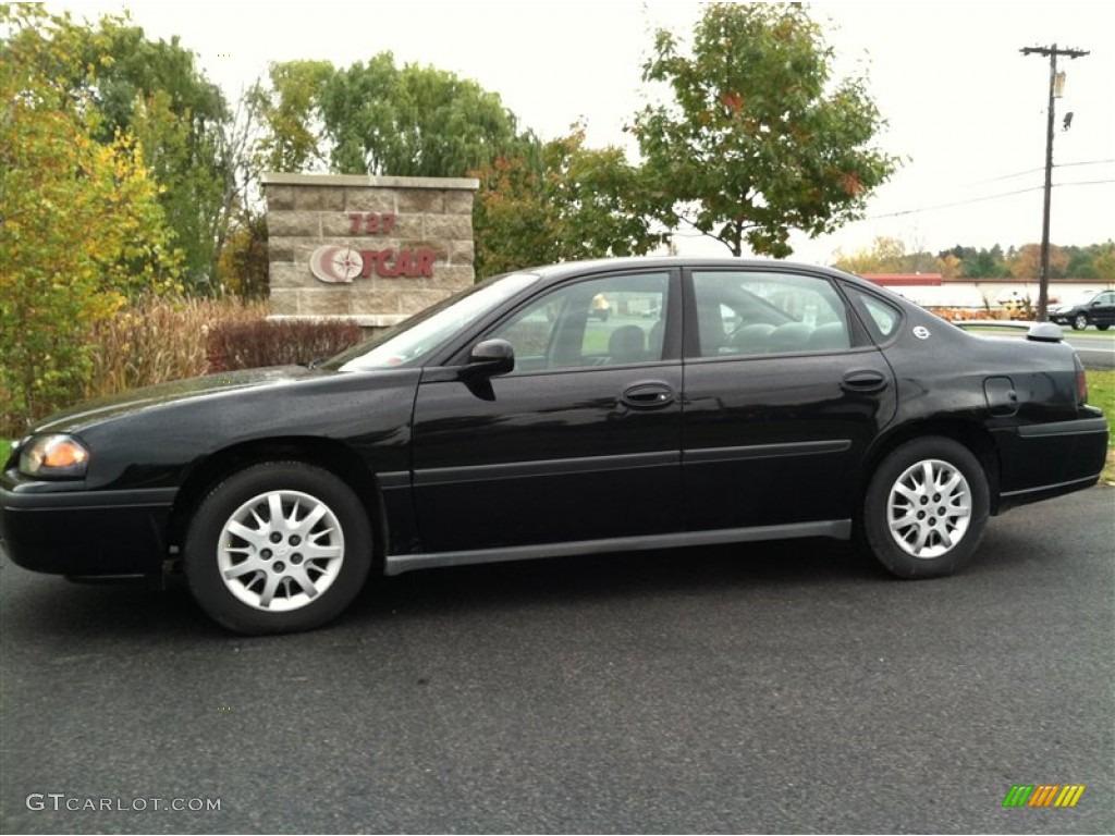 2005 black chevrolet impala 72204000 car. Black Bedroom Furniture Sets. Home Design Ideas