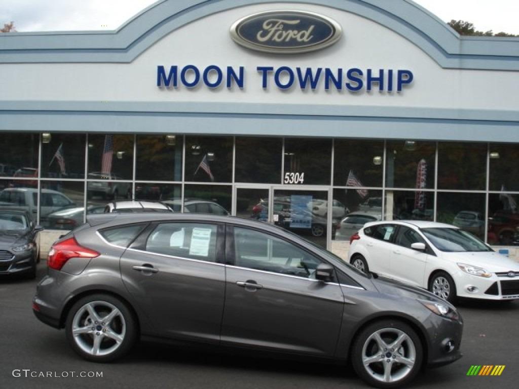 sterling gray ford focus ford focus titanium hatchback - Ford Focus 2014 Hatchback Titanium